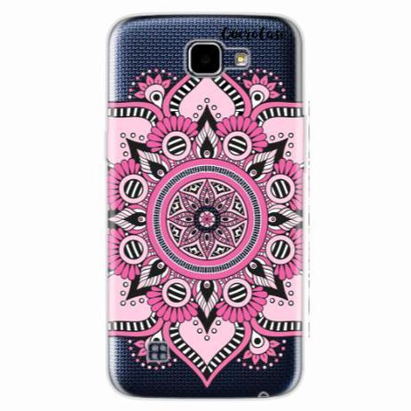 Imagem de Capa para LG K4 Mandala Rosa