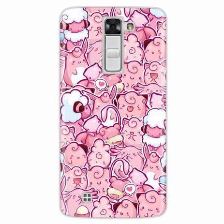 Imagem de Capa para LG K7 Pokemons Rosa