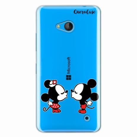 ec93b396285 Capa para Lumia 640 Mickey e Minnie 07 - Quero case - Capinha de ...