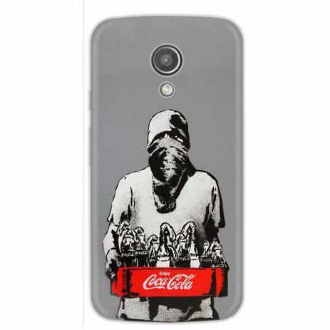 e13892e095c Capa para Moto G2 Coca Cola Molotov - Quero case - Capinha de ...