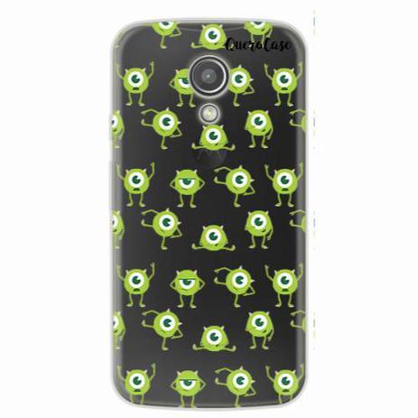 66bb48c1314 Capa para Moto G2 Mike Wazowski 04 - Quero case - Capinha de Celular ...
