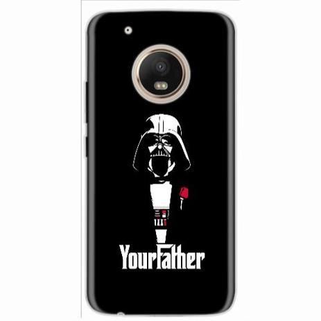 Imagem de Capa para Moto G5 Plus Darth Father