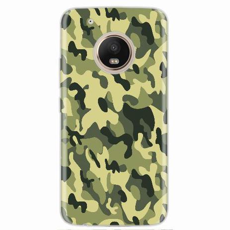 Imagem de Capa para Moto G5 Plus Florest Camouflage