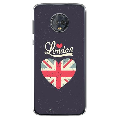 Imagem de Capa para Moto G6 Play - I Love London