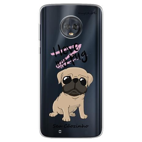 Imagem de Capa para Moto G6 Play - Love my pug