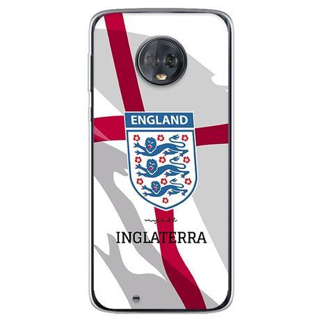 Imagem de Capa para Moto G6 Play - Seleção  Inglaterra