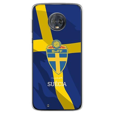 Imagem de Capa para Moto G6 Play - Seleção  Suécia