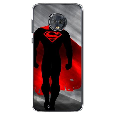 Imagem de Capa para Moto G6 Play - Super Man  Dark