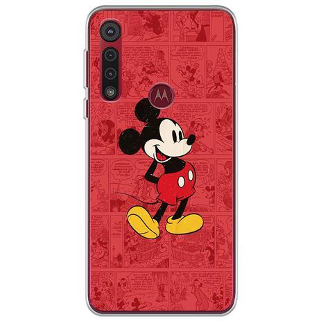 Imagem de Capa para Moto G8 Play - História em Quadrinhos  Mickey