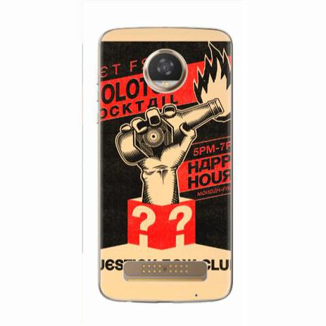 Imagem de Capa para Moto Z2 Play Molotov Cocktail