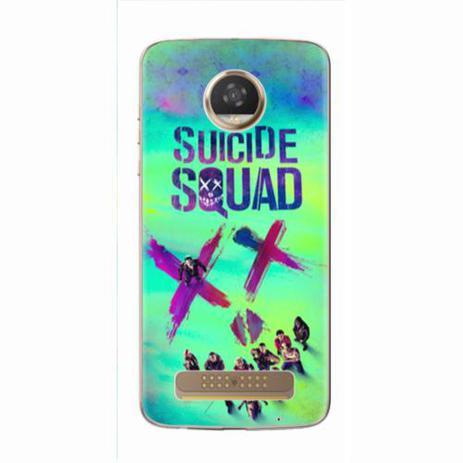 Imagem de Capa para Moto Z2 Play Suicide Squad