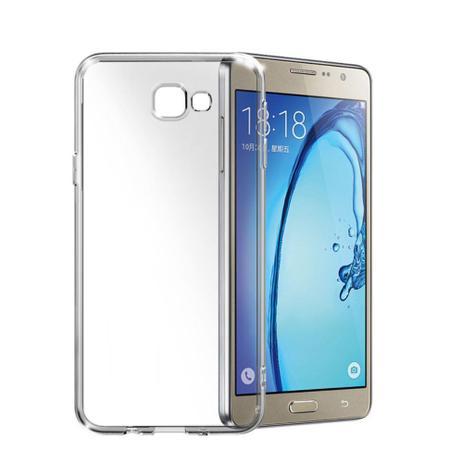 Imagem de Capa Para Samsung Galaxy J7 PRO Protetora Transparente Flexível Incolor Tpu clr