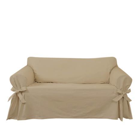 Imagem de Capa para Sofá de 2 Lugares em tecido Acquablock impermeável