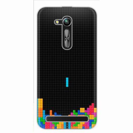 6eb7915e025 Capa para Zenfone Go 4.5 ZB452KG Tetris 01 - Quero case - Capinha ...