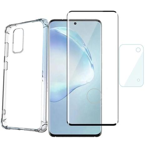Imagem de Capa Película Curvada Protetor Câmera Vidro Samsung S20 Plus