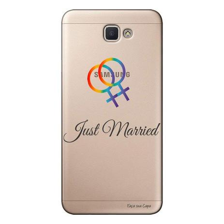 Imagem de Capa Personalizada para Galaxy j7 Prime LGBT - LB09