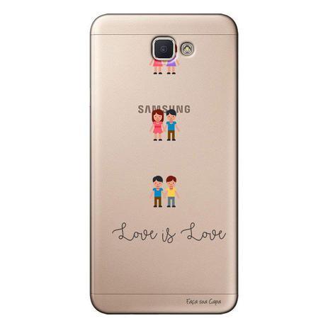 Imagem de Capa Personalizada para Galaxy j7 Prime LGBT - LB13