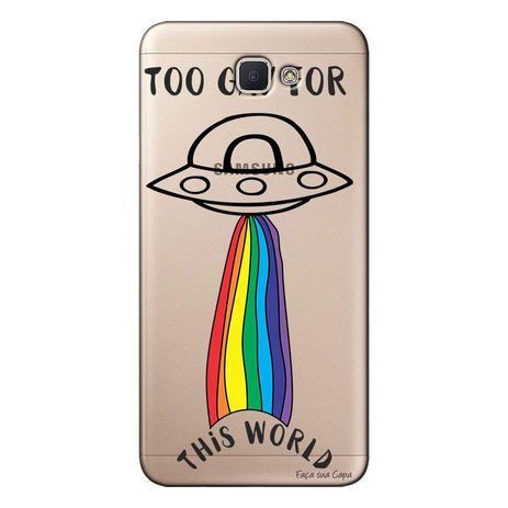Imagem de Capa Personalizada para Galaxy j7 Prime LGBT - LB29