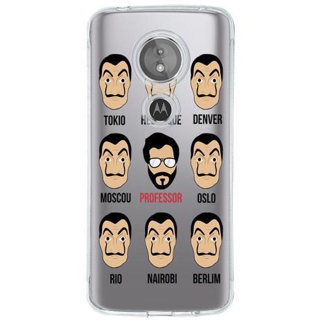 Imagem de Capa Personalizada para Motorola Moto E5 La Casa de Papel - TP354
