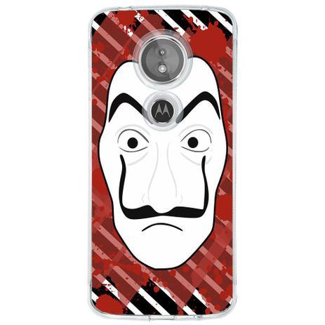 Imagem de Capa Personalizada para Motorola Moto E5 La Casa de Papel - TP355