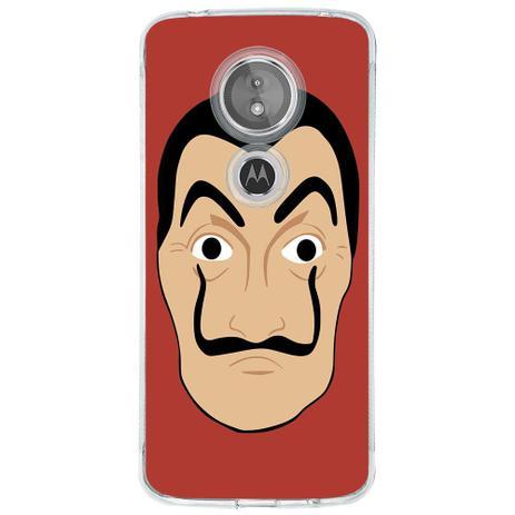 Imagem de Capa Personalizada para Motorola Moto E5 La Casa de Papel - TP357