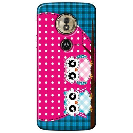 Imagem de Capa Personalizada para Motorola Moto G6 Play - Corujas - LV15