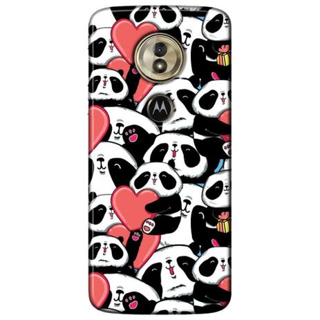 Imagem de Capa Personalizada para Motorola Moto G6 Play - Love Panda - LV21