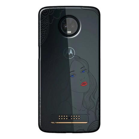 c768432ef Capa Personalizada para Motorola Moto Z3 Play - Style - TP266 ...