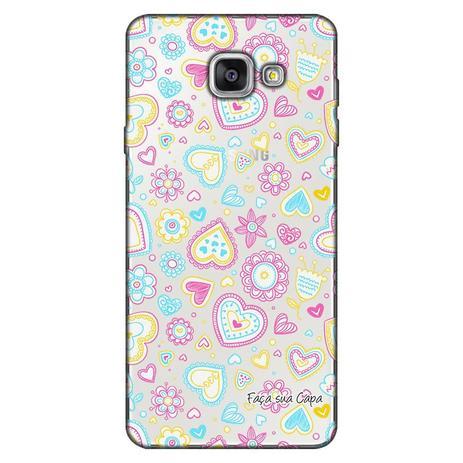 Imagem de Capa Personalizada para Samsung Galaxy A3 2016 Corações - TP143