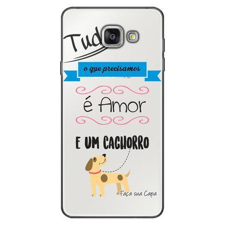 Imagem de Capa Personalizada para Samsung Galaxy A3 2016 Frases - TP147
