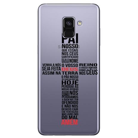 Imagem de Capa Personalizada para Samsung Galaxy A8 2018 Plus - Pai Nosso - TP348
