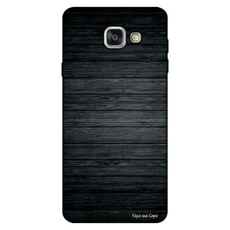 Imagem de Capa Personalizada para Samsung Galaxy A9 A910 Madeira Queimada - TX44