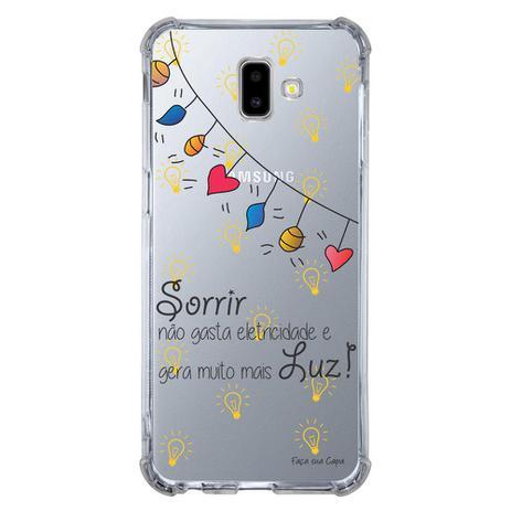 Imagem de Capa Personalizada para Samsung Galaxy J6 Plus J610 Frases - TP115