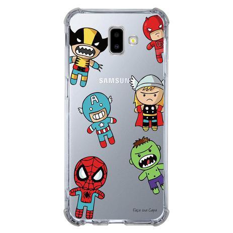 Imagem de Capa Personalizada para Samsung Galaxy J6 Plus J610 Super Heróis - TP118