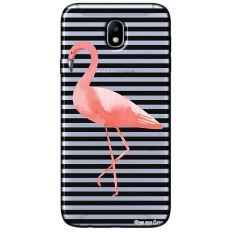 Imagem de Capa Personalizada para Samsung Galaxy J7 Pro J730 - Flamingo - TP317