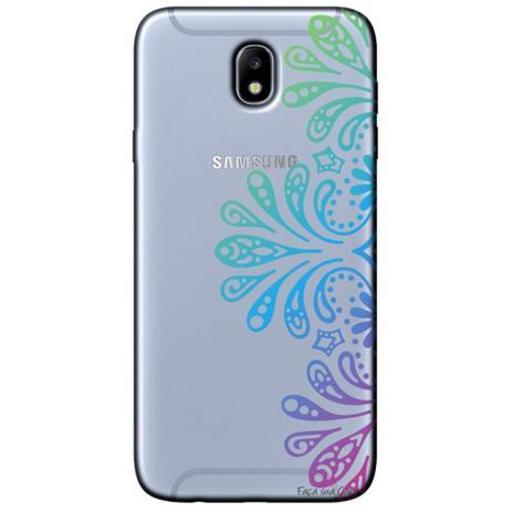 Imagem de Capa Personalizada para Samsung Galaxy J7 Pro J730 - Mandala - TP259