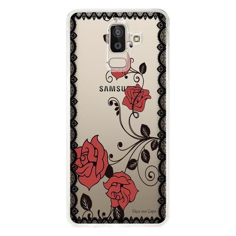 Imagem de Capa Personalizada para Samsung Galaxy J8 J800 Rendas - TP291