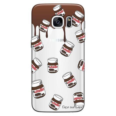 Imagem de Capa Personalizada para Samsung Galaxy S7 Nutella - TP109