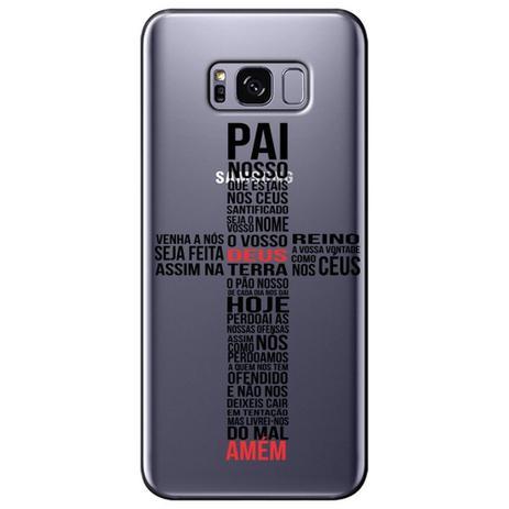 Imagem de Capa Personalizada para Samsung Galaxy S8 Plus G955 - Pai Nosso - TP348