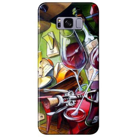 Imagem de Capa Personalizada para Samsung Galaxy S8 Plus G955 - Vinho ao Luar - DE35