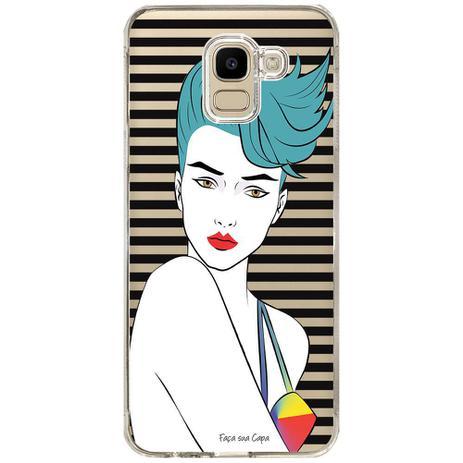 Imagem de Capa Personalizada Samsung Galaxy J6 J600 Style - TP265