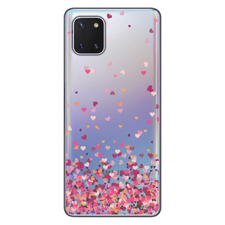 Imagem de Capa Personalizada Samsung Galaxy Note 10 Lite - Corações - TP48