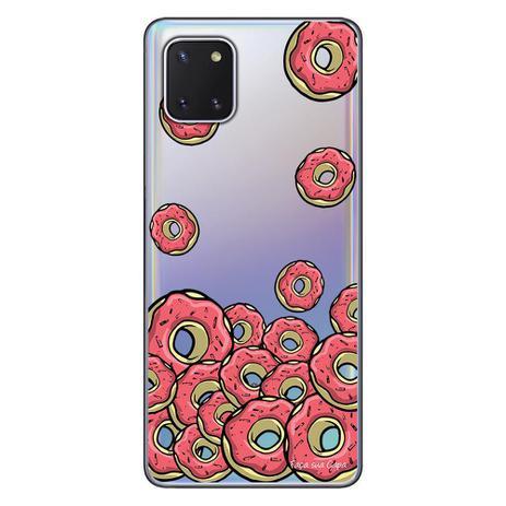 Imagem de Capa Personalizada Samsung Galaxy Note 10 Lite - Donuts - TP108