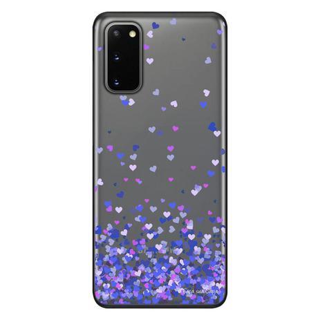 Imagem de Capa Personalizada Samsung Galaxy S20 G980 - Corações - TP170