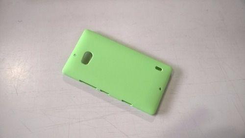 Imagem de Capa Plastica Camurçada Nokia Lumia 930 - Verde - Nova