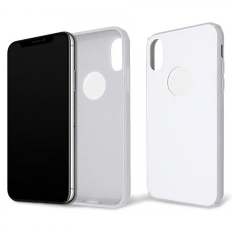 5334d829f Capa Protetora Anti Impacto Glass Case Iwill para iPhone X / iPhone XS -  Branco