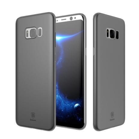 25cbc22ee Capa Protetora Baseus Wing Transparente para Samsung Galaxy S8 S8 Plus