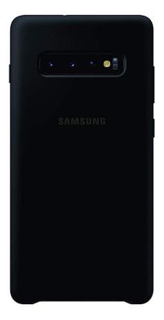 Imagem de Capa Protetora de Silicone Preta Samsung Galaxy S10 Plus