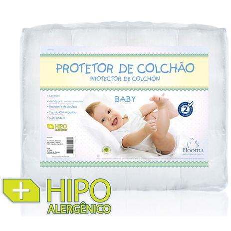 Imagem de Capa Protetora para Colchão Baby Slip Impermeável - Plooma