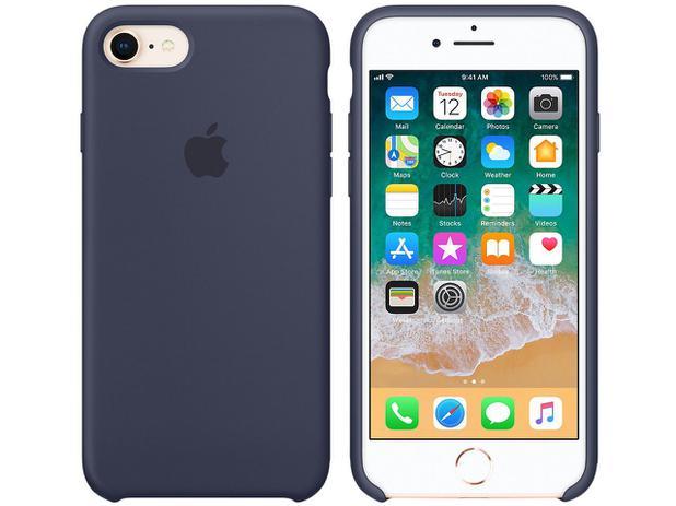 Capa Protetora Silicone para iPhone 7 e iPhone 8 - Apple MQGM2ZM/A